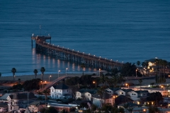 Ventura Pier View from Top of Mint Lane
