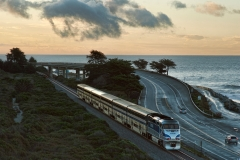 Amtrak Surfliner, Emma Wood State Beach