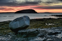 Balance Rock, Bar Harbor, Me.
